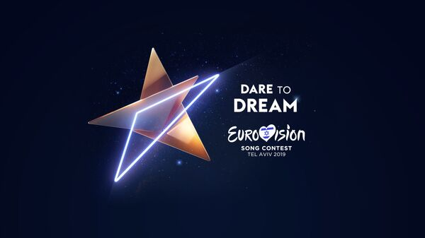 Il logo dell'Eurovision a Tel Aviv - Sputnik Italia
