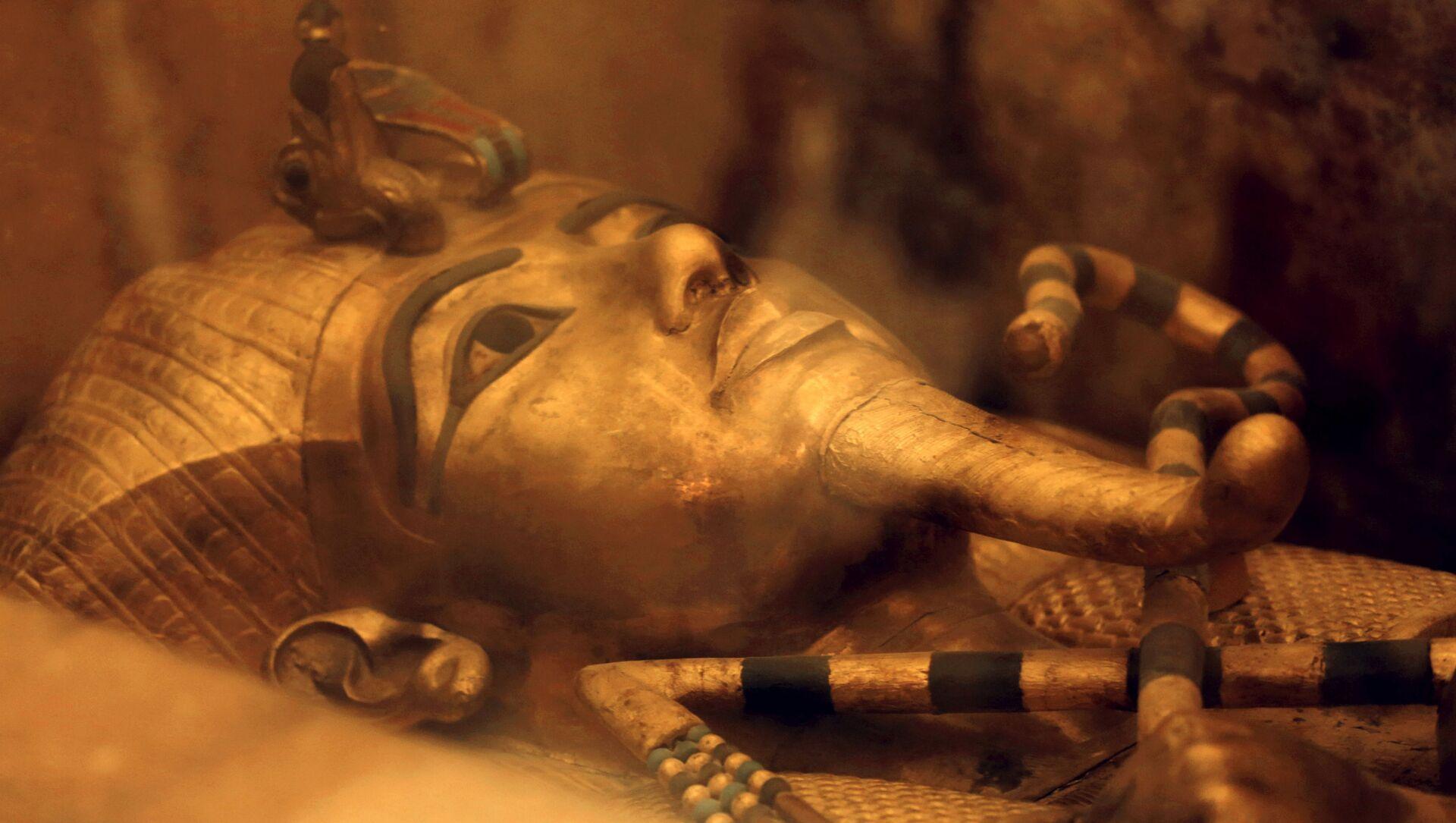Il sarcofago del faraone Tutankhamon - Sputnik Italia, 1920, 02.03.2021