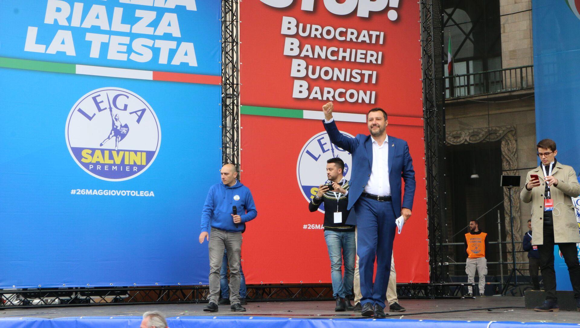 Matteo Salvini - Sputnik Italia, 1920, 17.02.2021