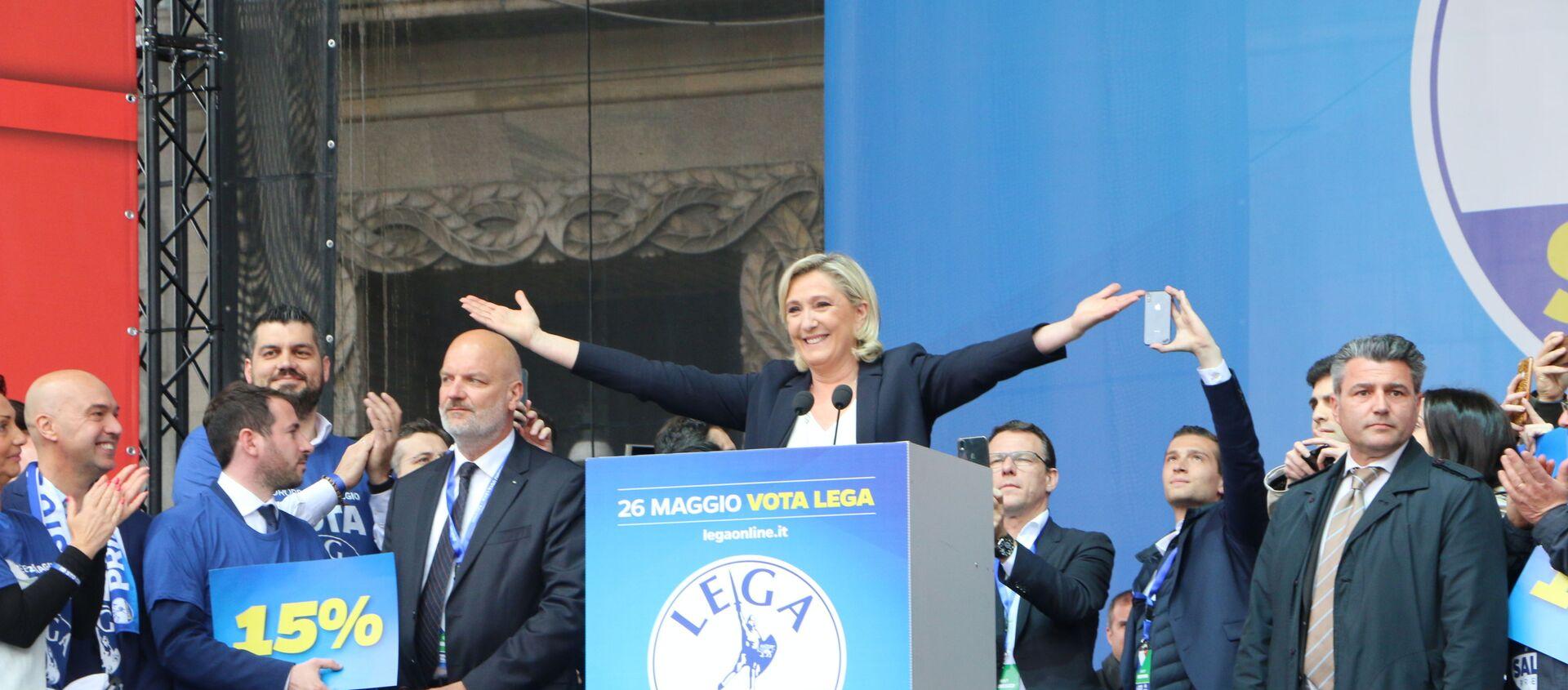 Marine Le Pen - Sputnik Italia, 1920, 30.01.2021