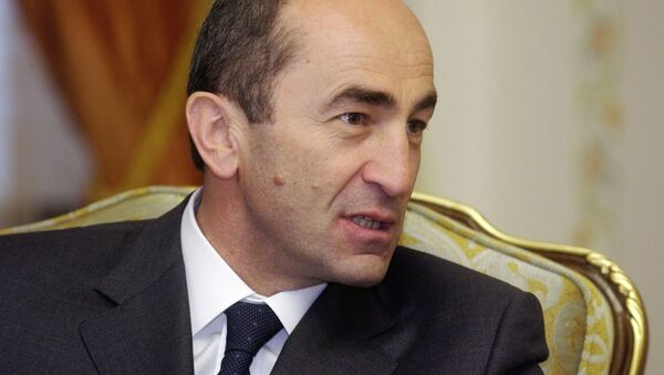 L'ex presidente armeno Robert Kocharyan - Sputnik Italia