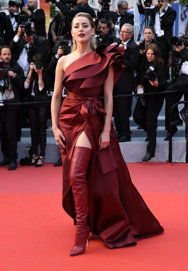 L'attrice e produttrice statunitense Amber Heard. - Sputnik Italia
