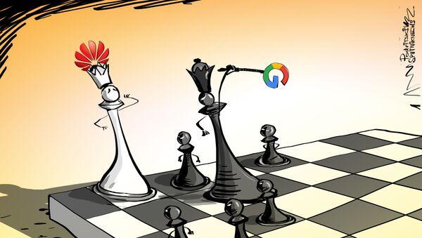 Google VS Huawei - Sputnik Italia