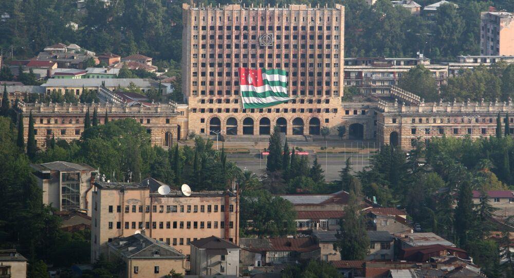 Palazzo del Parlamento a Sukhum, Repubblica dell'Abcasia