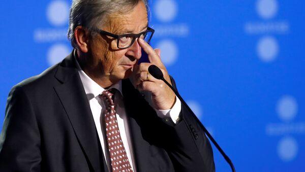 Il presidente della Commissione europea Jean-Claude Juncker - Sputnik Italia