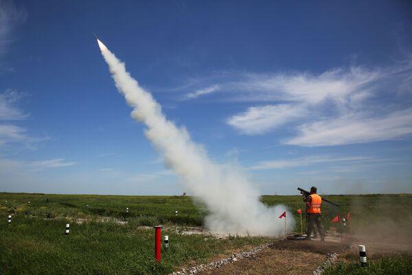 Il missile Igla in volo  - Sputnik Italia