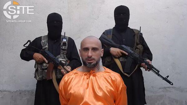 Alessandro Sandrini preso in ostaggio - Sputnik Italia