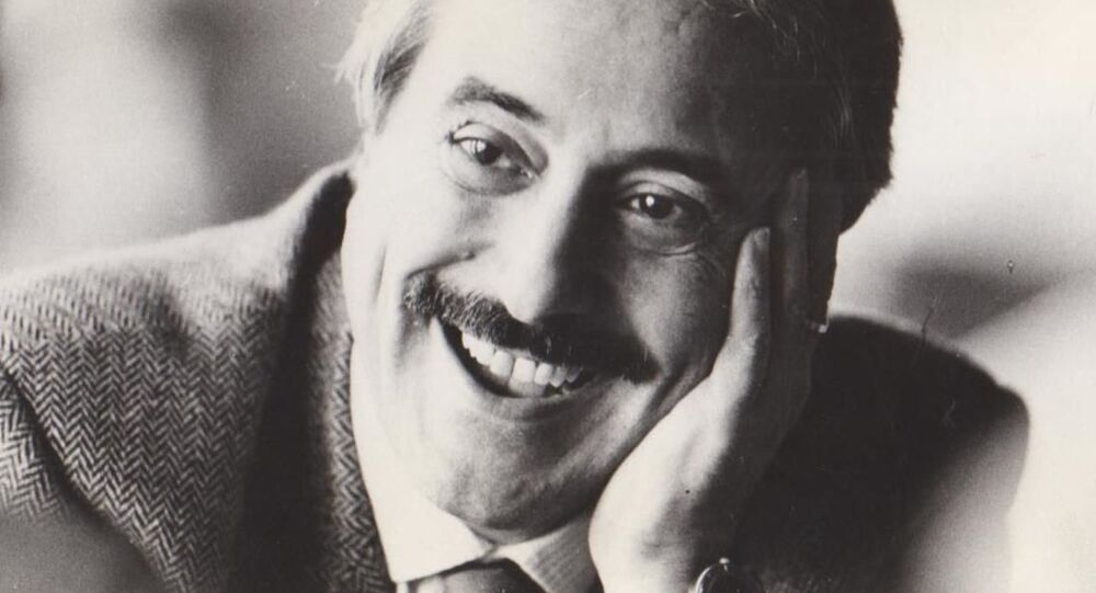 Magistrato italiano Giovanni Falcone