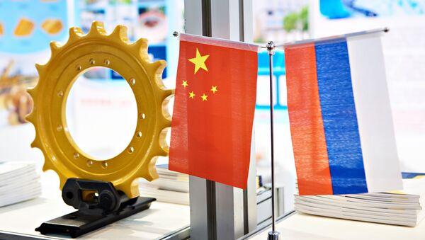 Bandiere Russia Cina - Sputnik Italia
