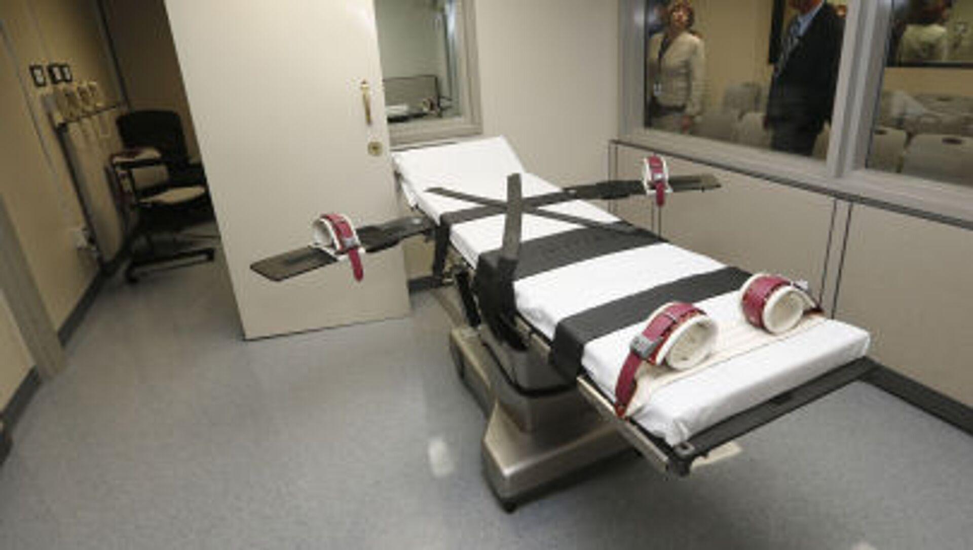 Locale per l'esecuzione delle ondanne a morte in Oklahoma, USA - Sputnik Italia, 1920, 22.02.2021