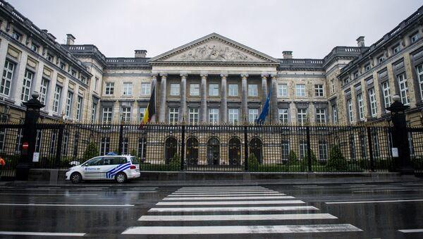Palazzo del Parlamento federale del Belgio a Bruxelles - Sputnik Italia