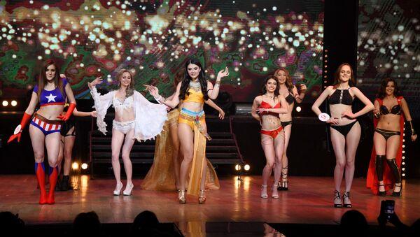 Le partecipanti al concorso di bellezza Miss Chita 2019 a Chita, Russia. - Sputnik Italia
