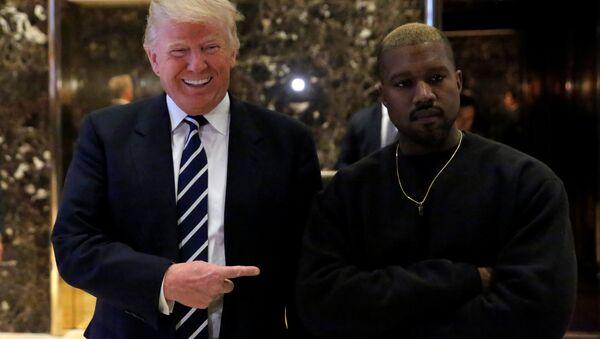 Donald Trump e Kanye West - Sputnik Italia