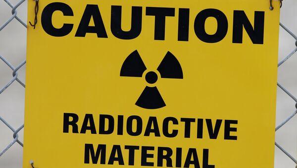 Предупреждающий знак о радиоактивном материале - Sputnik Italia