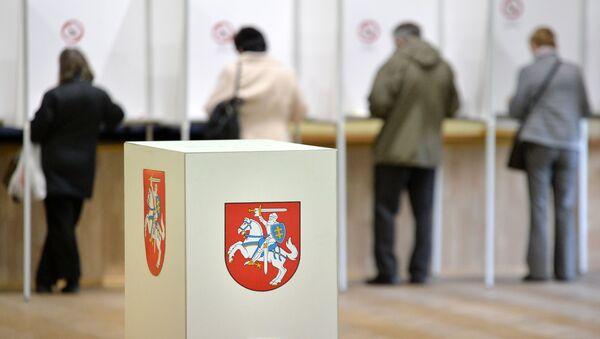 Seggi aperti per le elezioni in Lituania - Sputnik Italia
