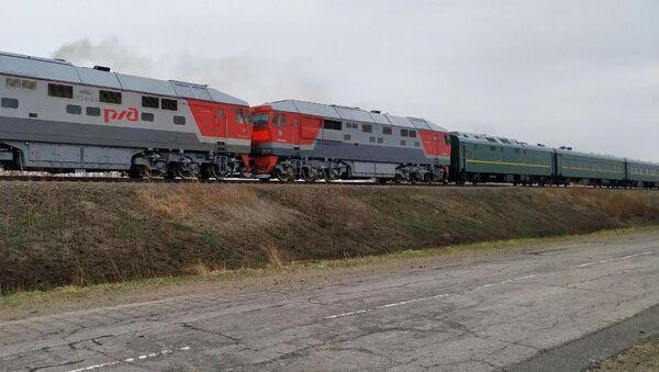 Il treno blindato di Kim Jong Un - Sputnik Italia