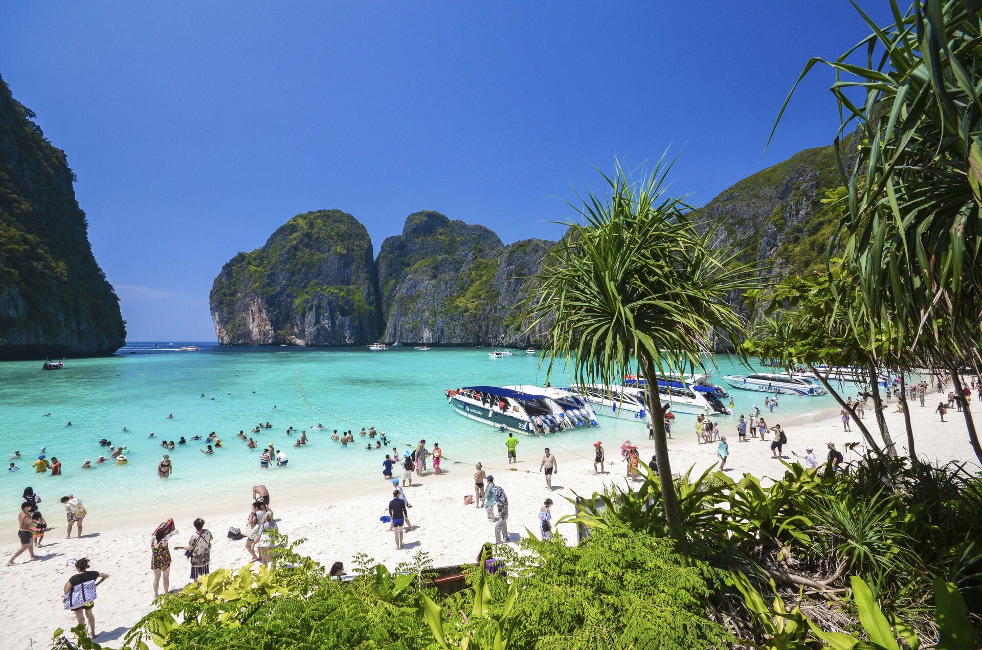 La Thailandia per attirare turisti propone la quarantena in yacht - Sputnik Italia, 1920, 09.03.2021