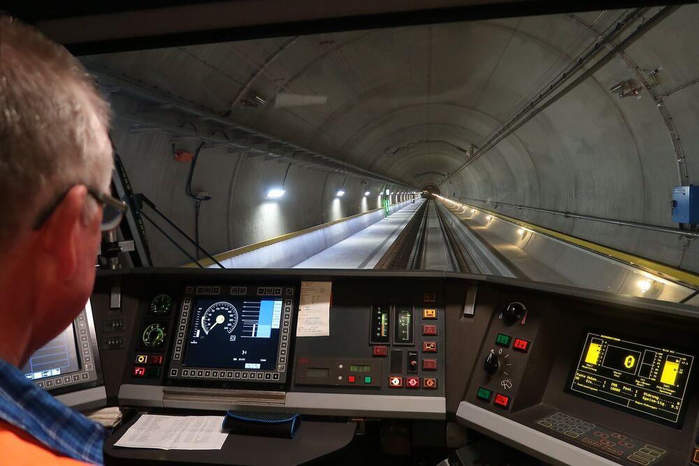Il tunnel di base del San Gottardo