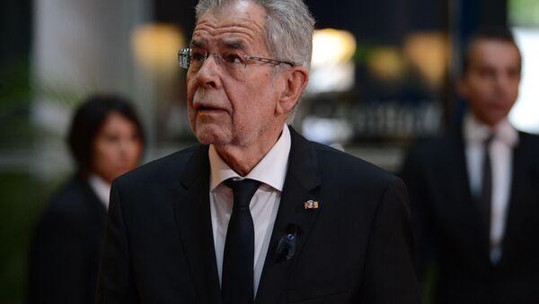 Il presidente austriaco Alexander Van der Bellen - Sputnik Italia