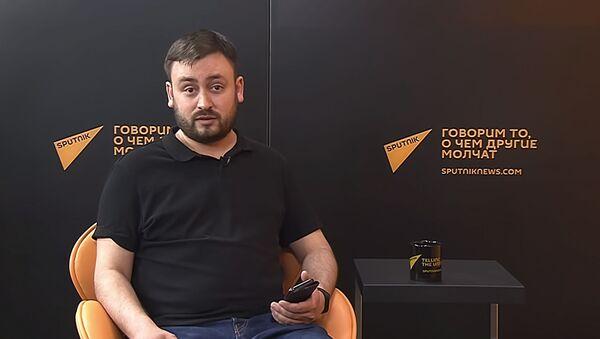 Il caporedattore Sputnik Lituania Marat Kasem - Sputnik Italia