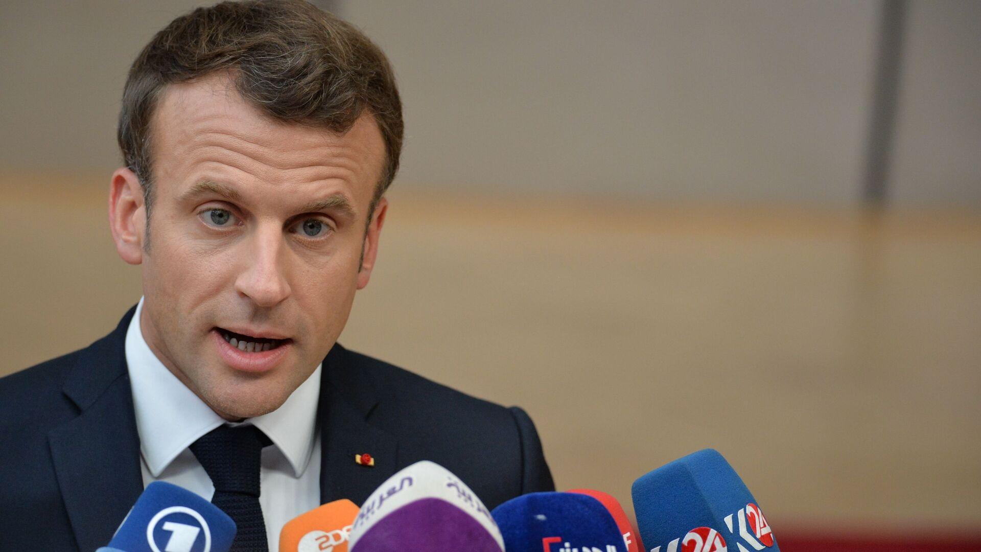 Emmanuel Macron - Sputnik Italia, 1920, 09.06.2021