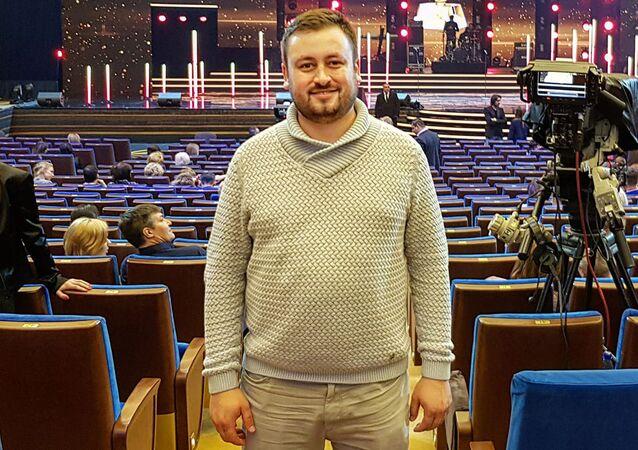 Il caporedattore di Sputnik Lituania Marat Kasem