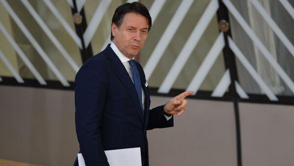 Il presidente del Consiglio dei ministri della Repubblica Italiana Giuseppe Conte - Sputnik Italia