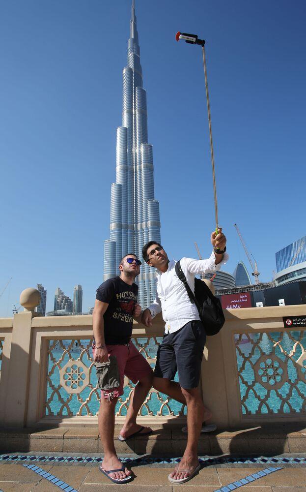 Il grattacielo Burj Khalifa a Dubai