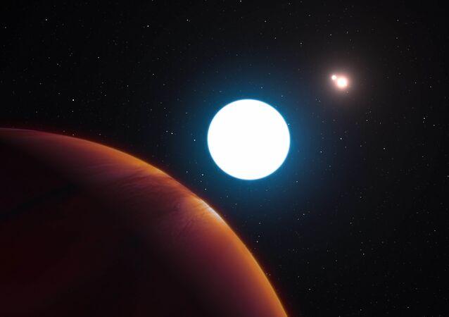 esopianeti (immagine d'archivio)