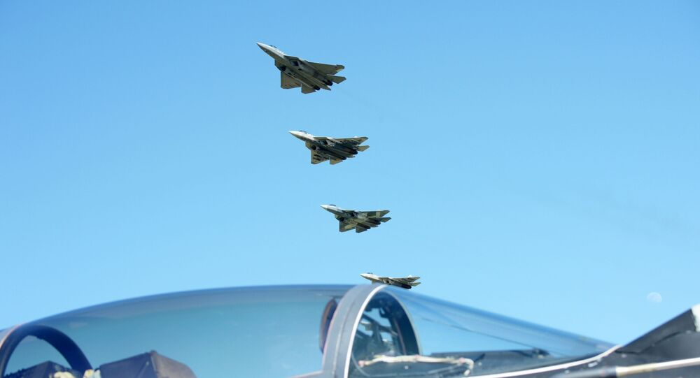 I caccia multiruolo Su-57