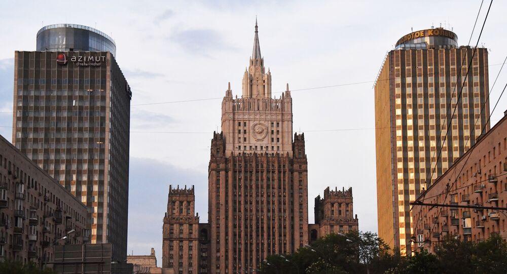 Il ministero degli Esteri russo