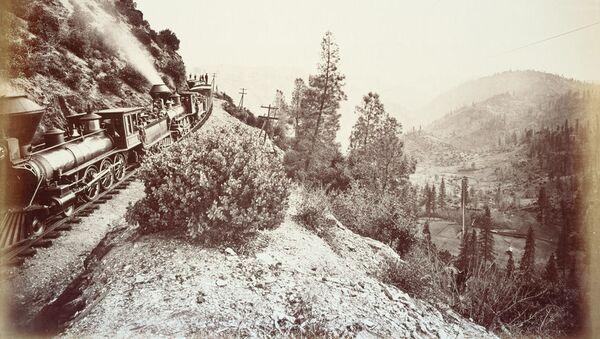 La prima ferrovia transcontinentale negli USA, 1876 - Sputnik Italia