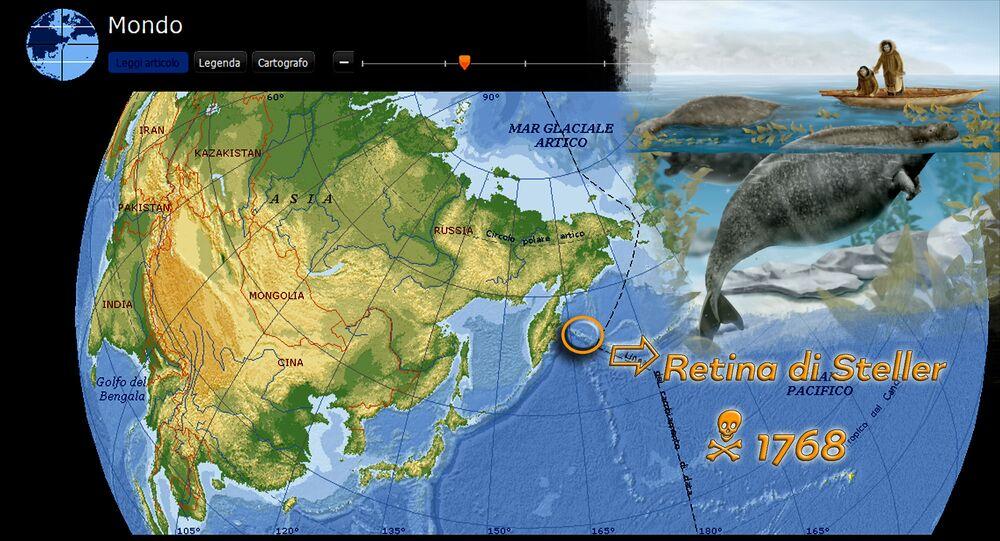 Retina di Steller - Arcipelago del Commodoro (RUS), 1768