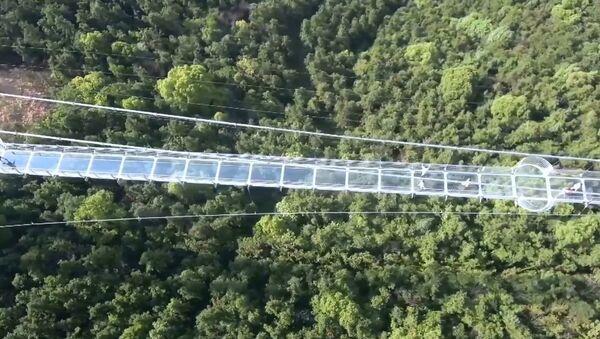 Ponte di vetro in Cina per chi ha i nervi saldi - Sputnik Italia