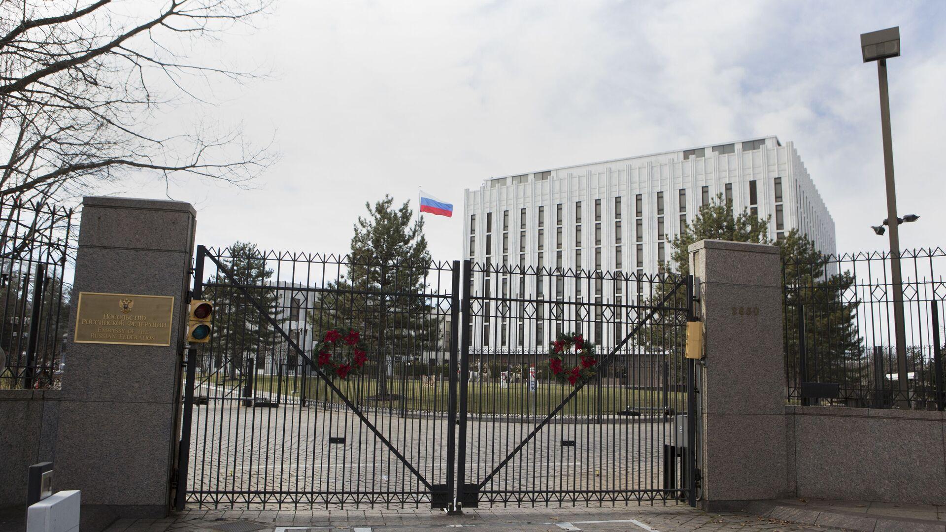Посольство России в Вашингтоне, США - Sputnik Italia, 1920, 02.08.2021
