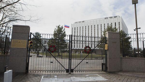 Посольство России в Вашингтоне, США - Sputnik Italia