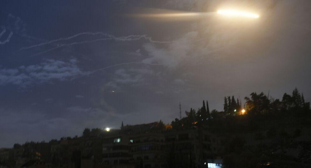 Lancio israeliano verso la Siria