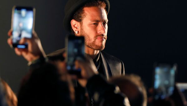 Il calciatore brasiliano Neymar da Silva Santos Júnior - Sputnik Italia
