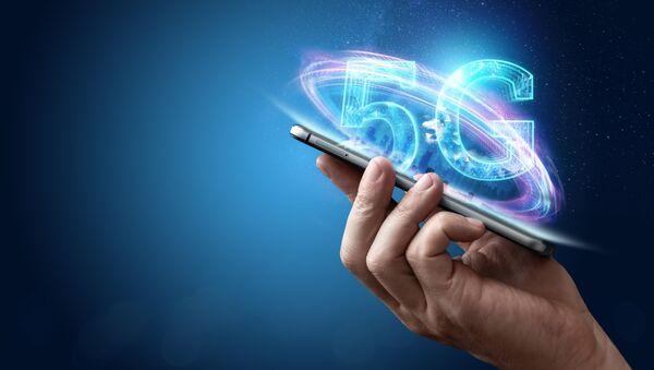 Illustrazione della rete mobile 5G - Sputnik Italia