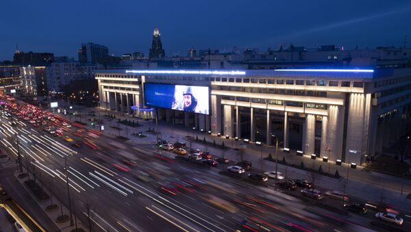 La sede dell'agenzia russa di stampa internazionale Rossiya Segodnya nel centro di Mosca - Sputnik Italia