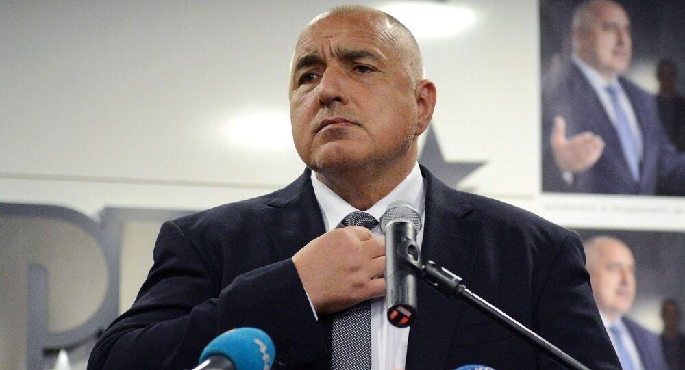 Il primo ministro bulgaro e leader del partito Cittadini per lo Sviluppo Europeo della Bulgaria, Bojko Borisov