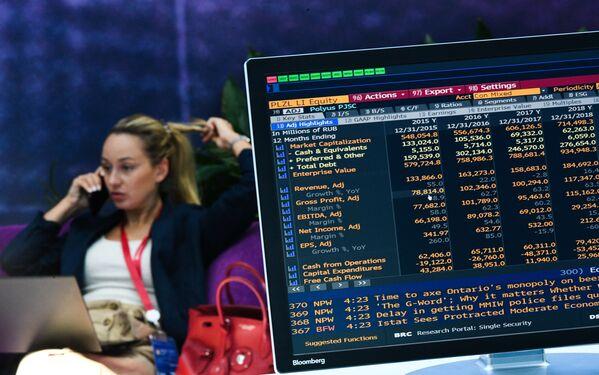 Al centro espositivo Expoforum alla vigilia del Forum Economico Internazionale di S. Pietroburgo (SPIEF). - Sputnik Italia
