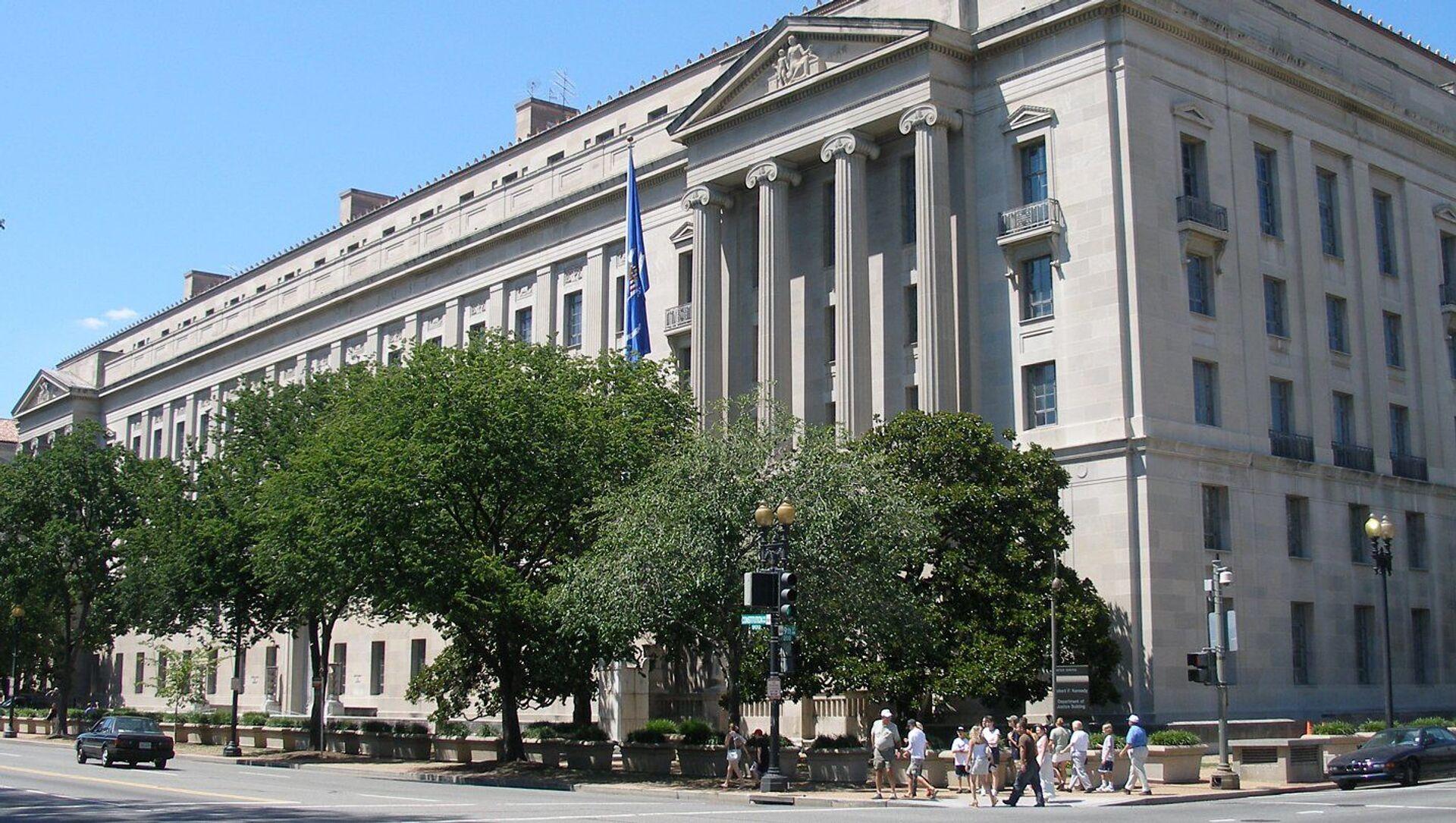Dipartimento di Giustizia USA a Washington - Sputnik Italia, 1920, 20.02.2021