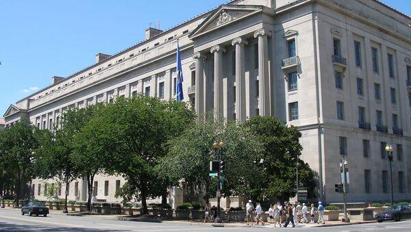 Dipartimento di Giustizia USA a Washington - Sputnik Italia
