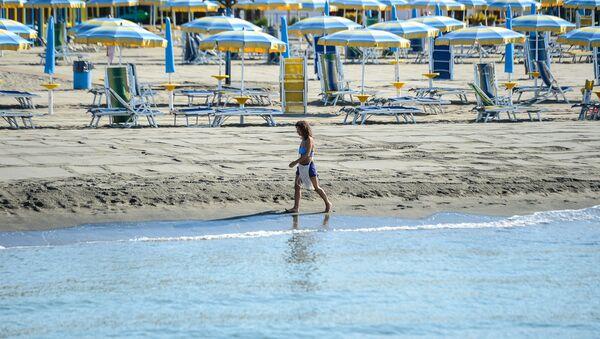Spiaggia vicino a Roma - Sputnik Italia