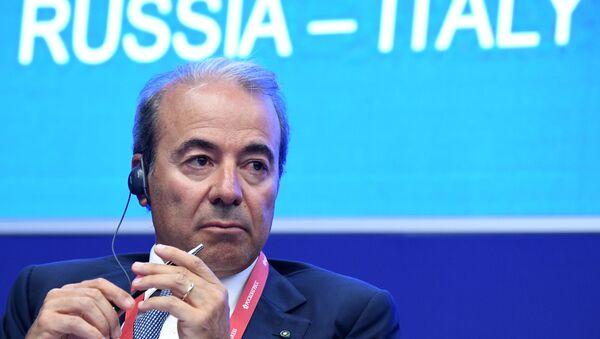Presidente del Gruppo Maire Tecnimont, Fabrizio Di Amato - Sputnik Italia
