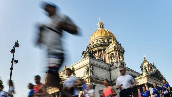 La maratona SPIEF Race a San Pietroburgo. - Sputnik Italia