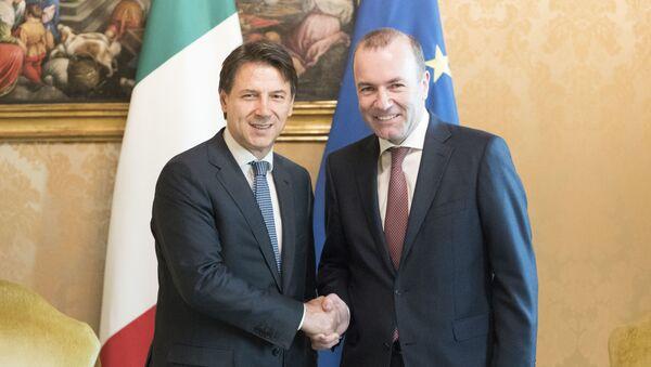 Conte incontra Weber - Sputnik Italia