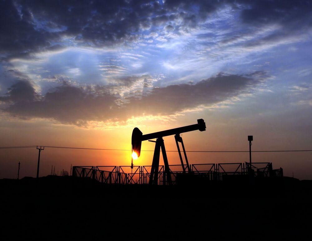 Un giacimento petrolifero in Bahrein