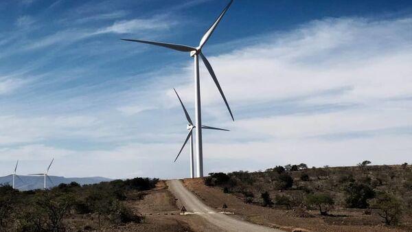 Un parco eolico di Oyster Bay realizzato da Enel Green Power in Sudafrica - Sputnik Italia